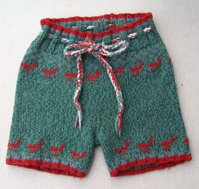 Ant Hill Hand Knit Shorties, sz M