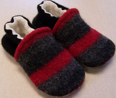 Charcoal/Red Stripe, 18-24m-