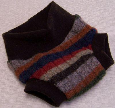 Rainbow Stripe Hybrid Soaker, sz S-