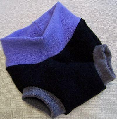 Black/Iris/Umber Hybrid Soaker, sz S-