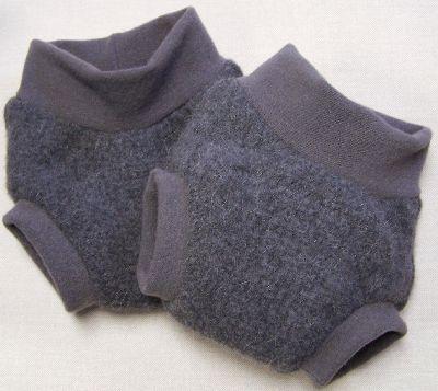 Fuzzy Gray Hybrid Soaker, sz L-