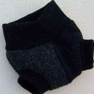 Charcoal/Black Hybrid Soaker, sz XS