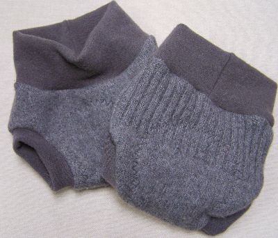 Basic Soft Gray Hybrid Soaker, sz S-