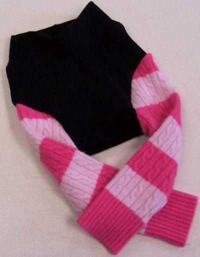 Pink Stripe Leggings, sz M-
