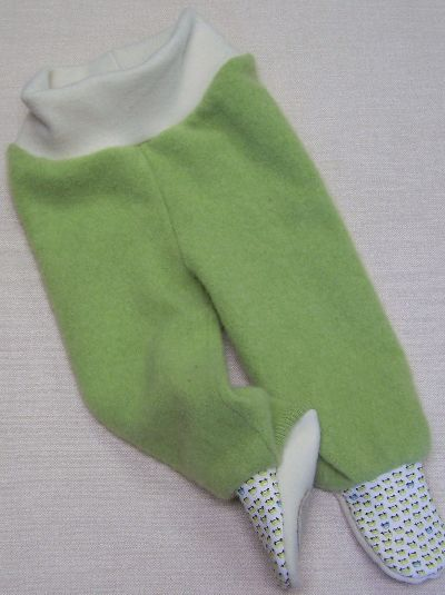 Tiny Cars Cashmere Footies, sz M-