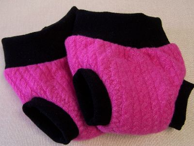 Hot Pink/Black Hybrid Soaker, sz M-