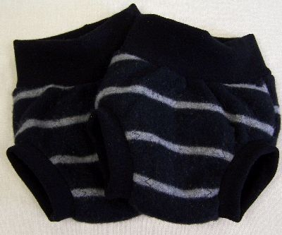 Black/Gray Stripe Hybrid Soaker, sz L-